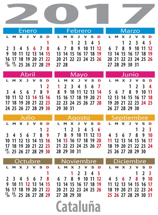 Calendario Laboral De Cataluna.Calendario Laboral Cataluna