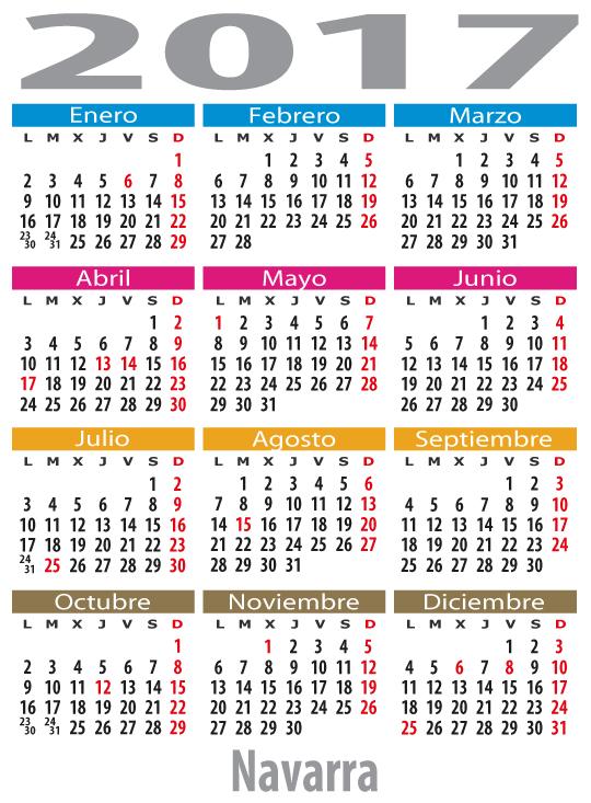 Calendario Laboral Navarra.Calendario Laboral Navarra Reino De Navarra